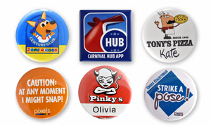 Button Name Badge