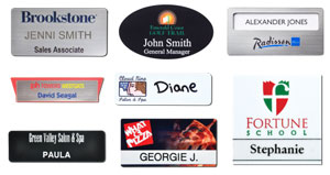 Plastic Name Badges